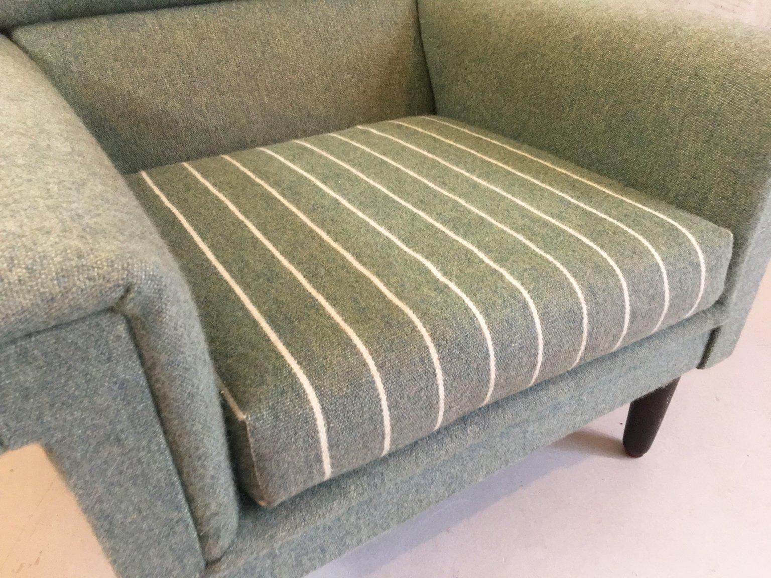 d nischer gr ner sessel 1970er bei pamono kaufen. Black Bedroom Furniture Sets. Home Design Ideas