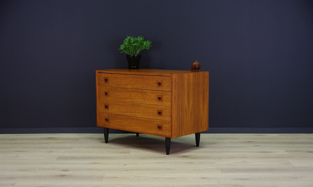 mid century scandinavian teak commode bei pamono kaufen. Black Bedroom Furniture Sets. Home Design Ideas