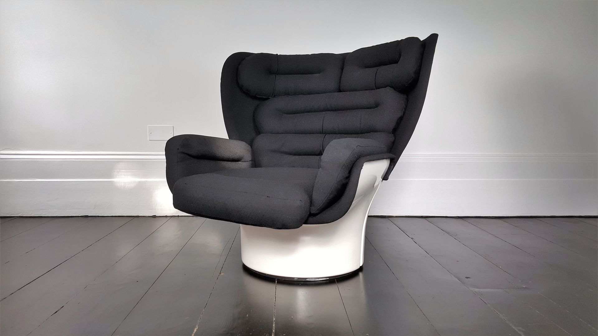 chaise elda par joe colombo pour comfort 1963 en vente sur pamono. Black Bedroom Furniture Sets. Home Design Ideas