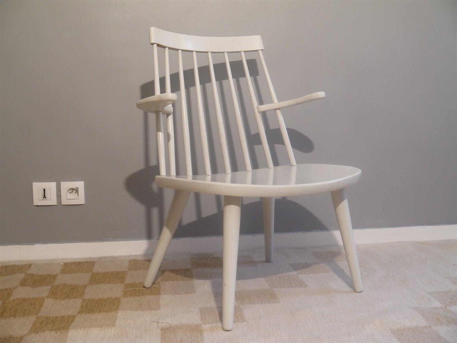 Vintage Sibbo Armchair by Yngve Ekstrom for Stolab, 1950s bei Pamono kaufen