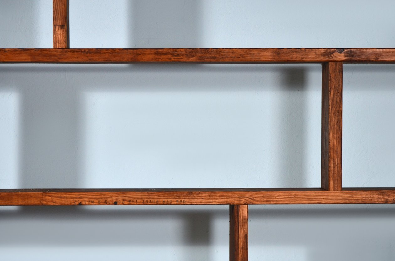 regal aus recyceltem holz stahl von johanenlies 2017. Black Bedroom Furniture Sets. Home Design Ideas