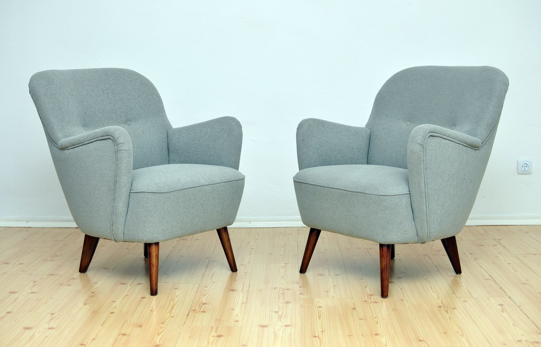 Mid Century Armchairs 1950s Set of 2 for sale at Pamono