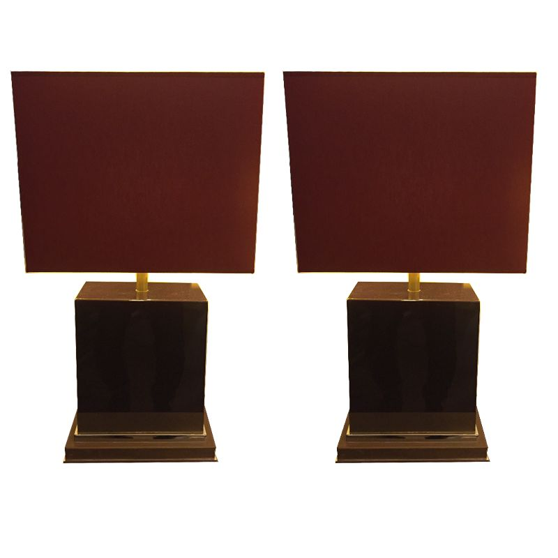 Brass Table Lamps 1930s Set Of 2 Bei Pamono Kaufen