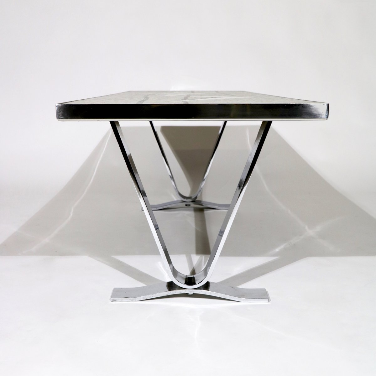 German Futuristic Coffee Table With Mosaic 1960s For Sale At Pamono