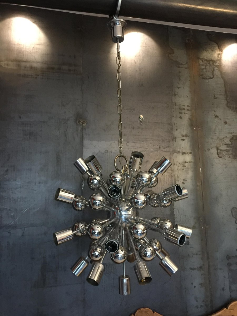 Vintage Chandelier by Goffredo Reggiani 1970s for sale at Pamono