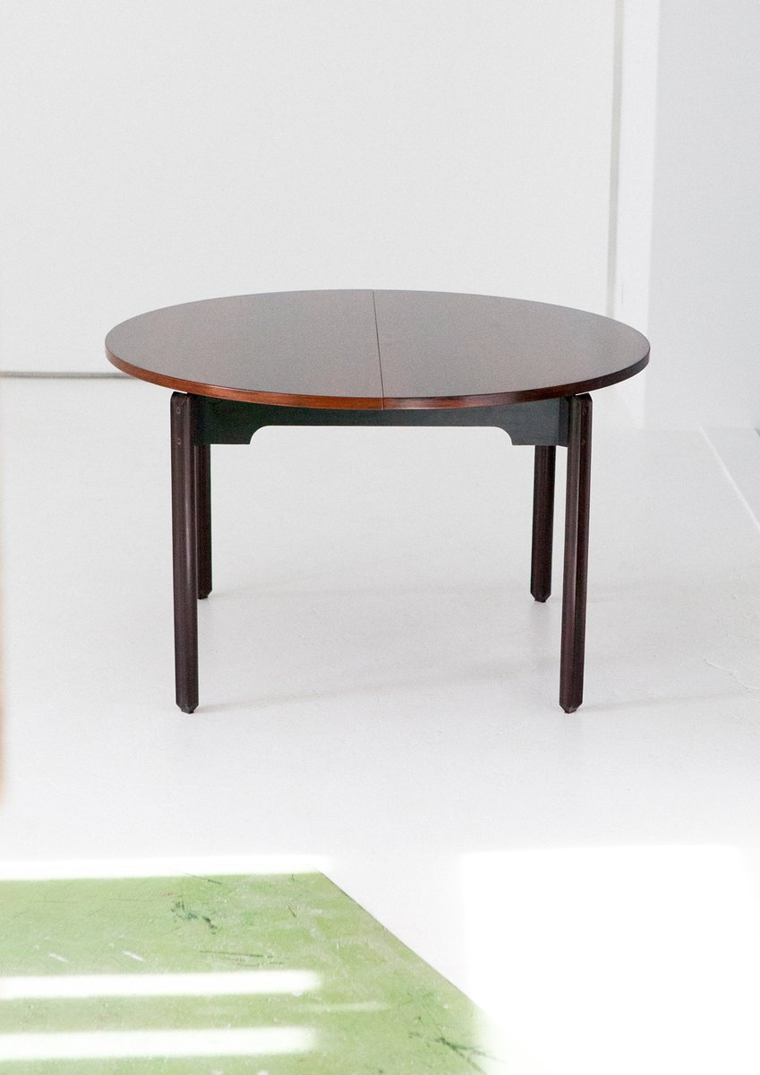 dining table 4 chairs in rosewood from stildomus 1960s. Black Bedroom Furniture Sets. Home Design Ideas
