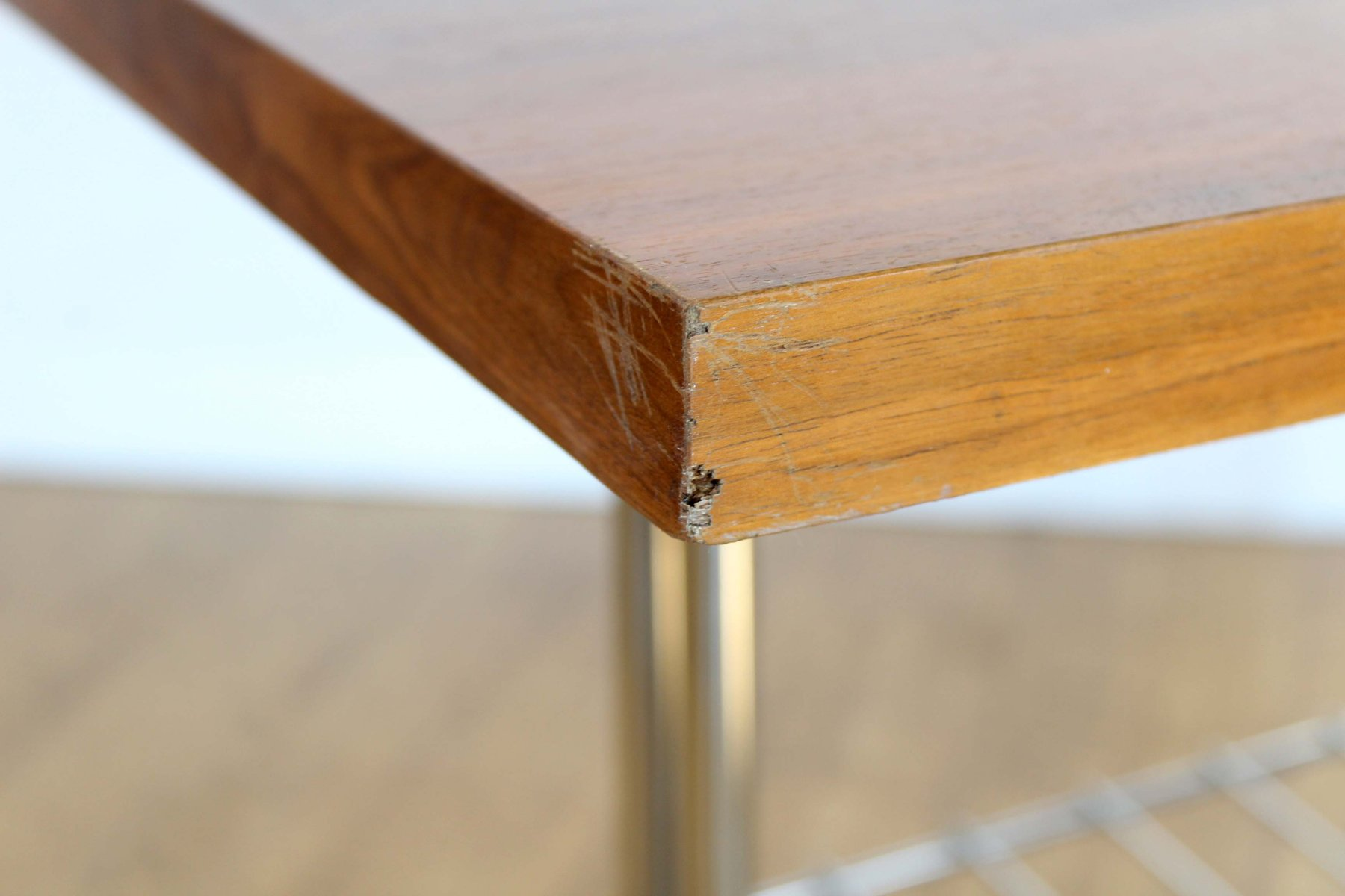 vintage couchtisch auf rollen bei pamono kaufen. Black Bedroom Furniture Sets. Home Design Ideas