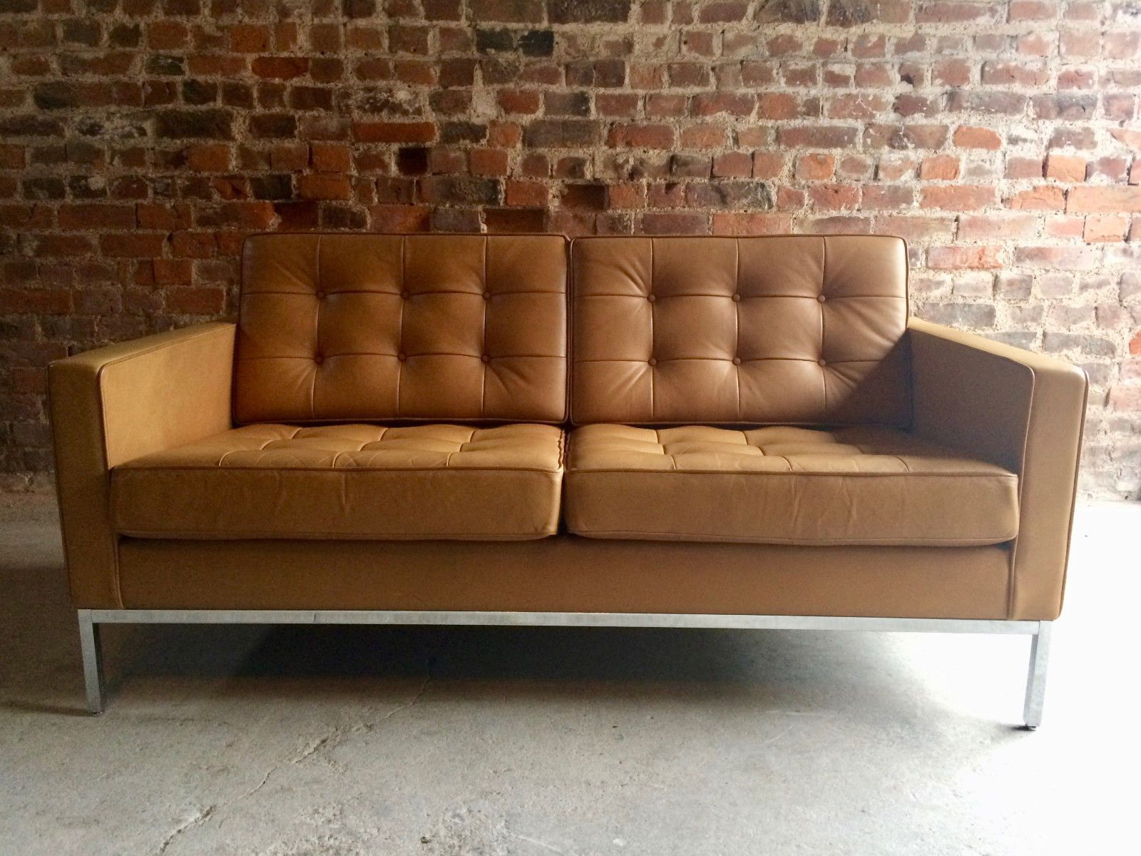 vintage knoll sofa clic design before after vintage florence knoll sofa thesofa. Black Bedroom Furniture Sets. Home Design Ideas