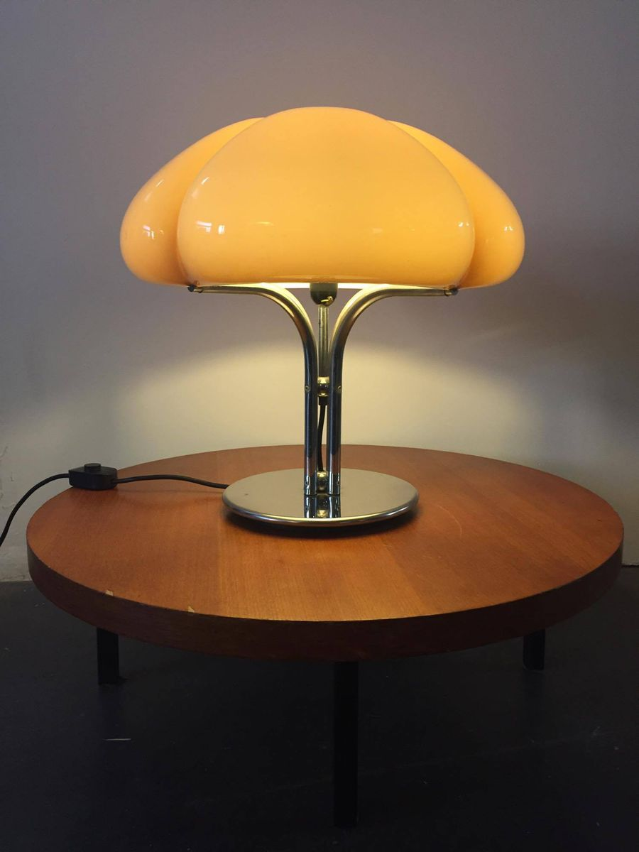table lamp by gae aulenti for guzzini 1970s for sale at. Black Bedroom Furniture Sets. Home Design Ideas