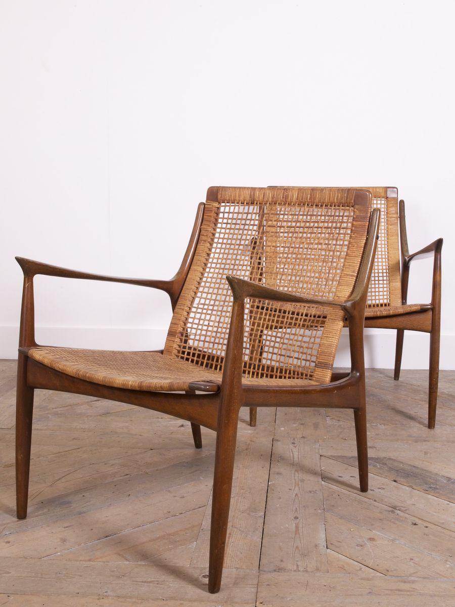 mid century sessel von ib koford larsen f r ope bei pamono. Black Bedroom Furniture Sets. Home Design Ideas