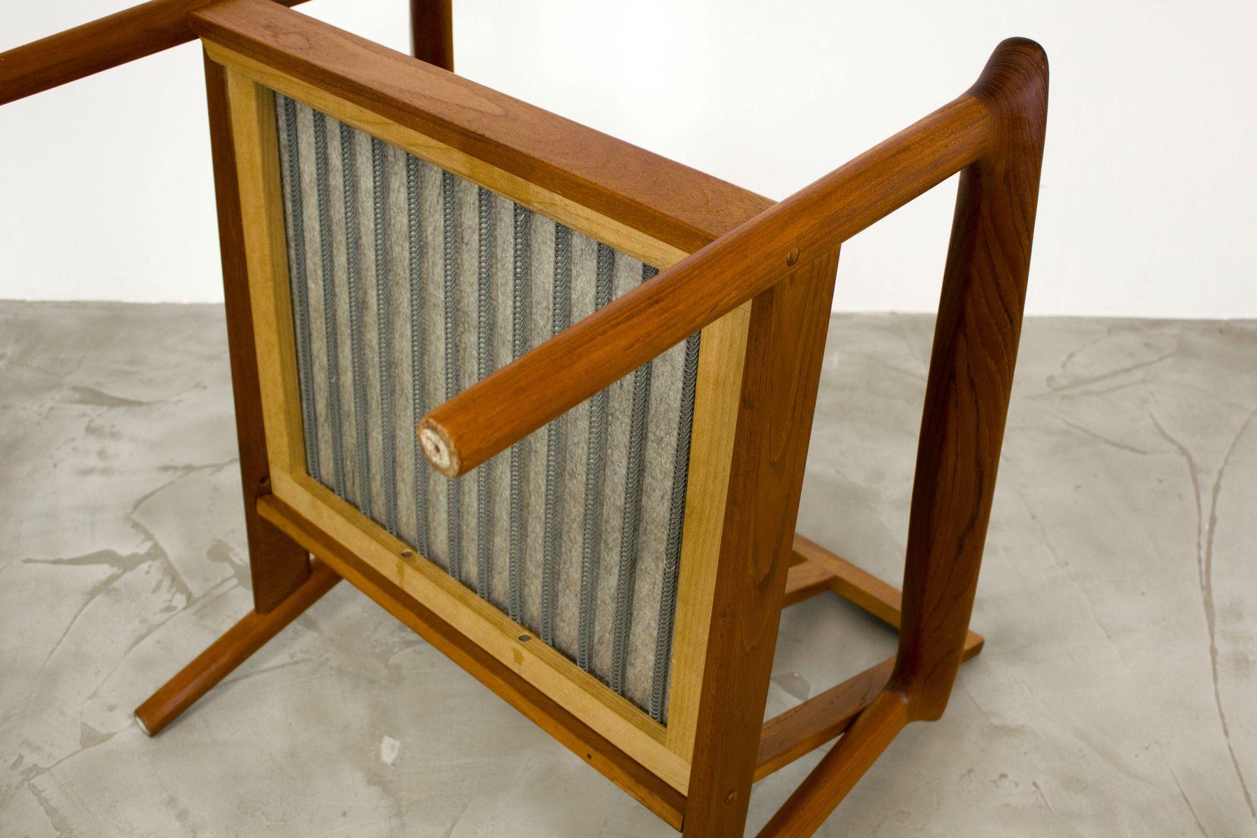 Vintage Danish Teak Easy Chair 1960s bei Pamono kaufen