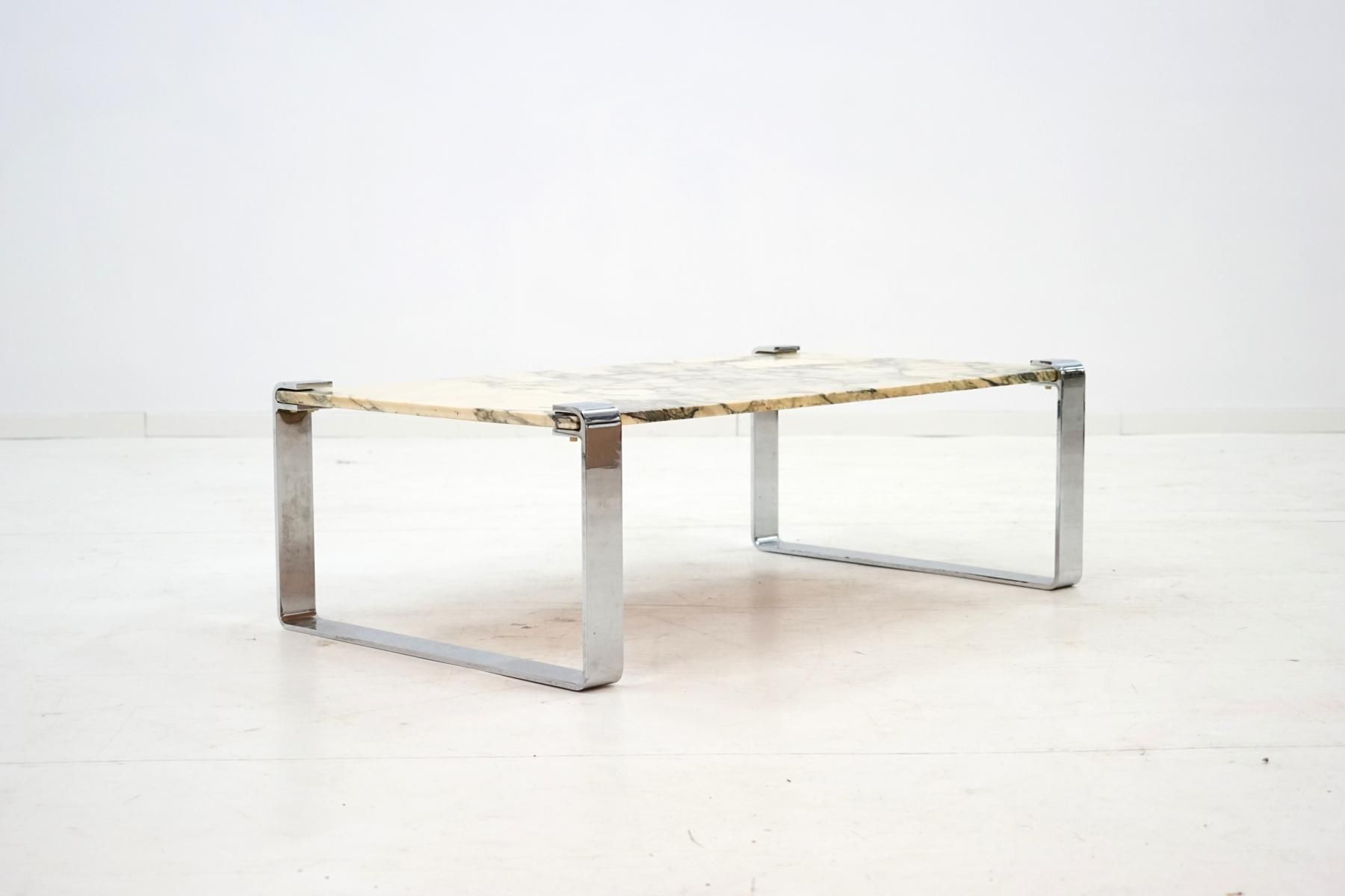 Marble chrome coffee table by peter draenert 1970s for sale at marble chrome coffee table by peter draenert 1970s for sale at pamono geotapseo Image collections