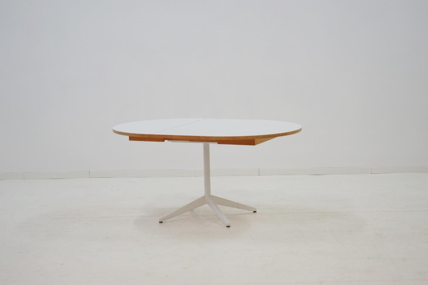 Lazy Susan Pedestal Dining Table by George Nelson for Herman