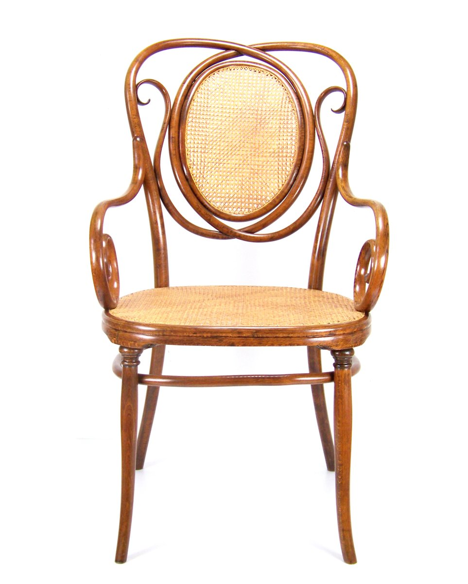 Antique no 22 armchair from thonet for sale at pamono for Armchair vintage