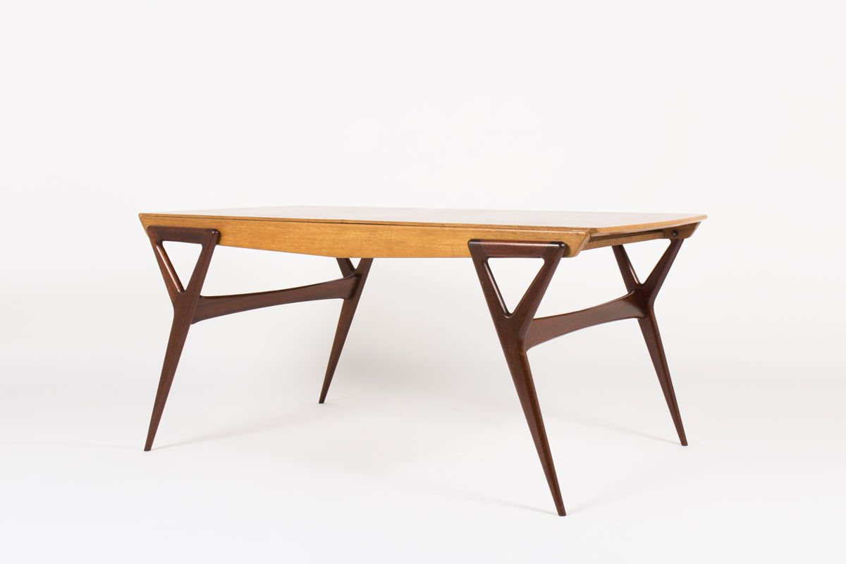 Dining Table by Louis Paolozzi for Rene Godfrid, 1955 for sale at ...