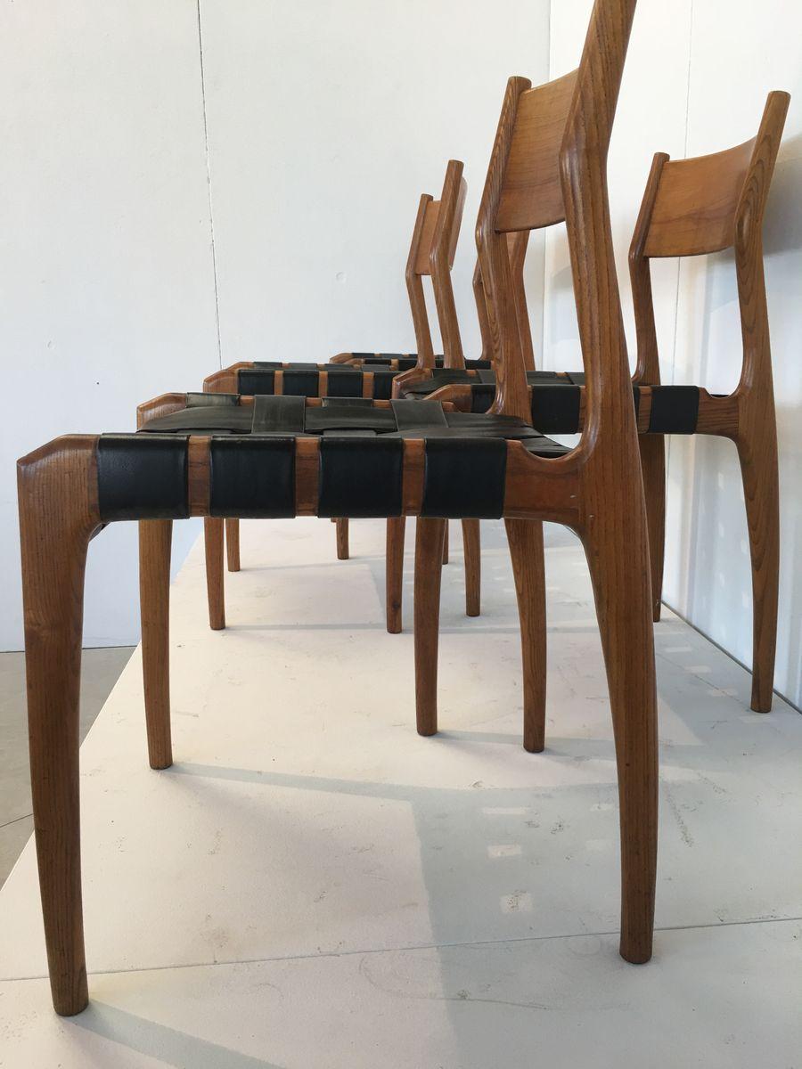 italienische teak st hle von fratelli reguitti 1950er 6er set bei pamono kaufen. Black Bedroom Furniture Sets. Home Design Ideas