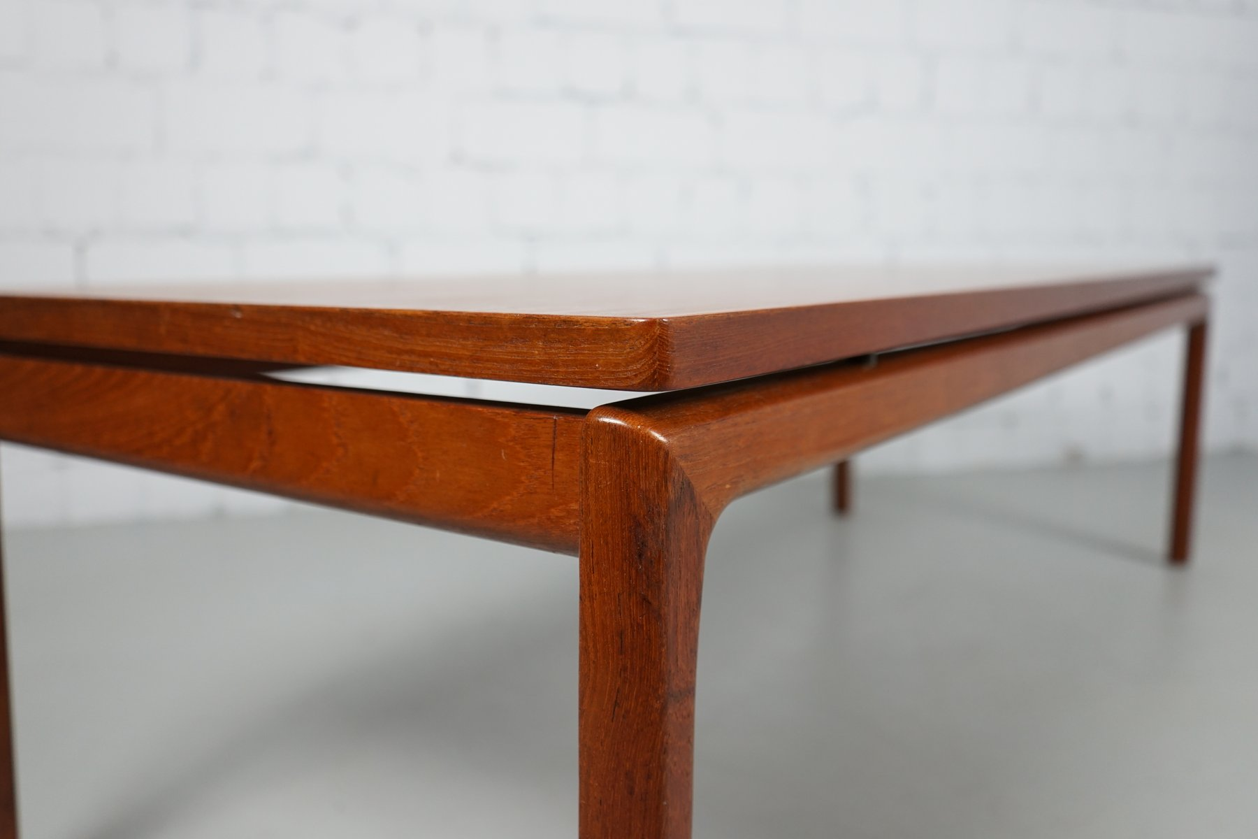 Teak Coffee Table by Ole Wanscher for France & S¸n 1960s for sale