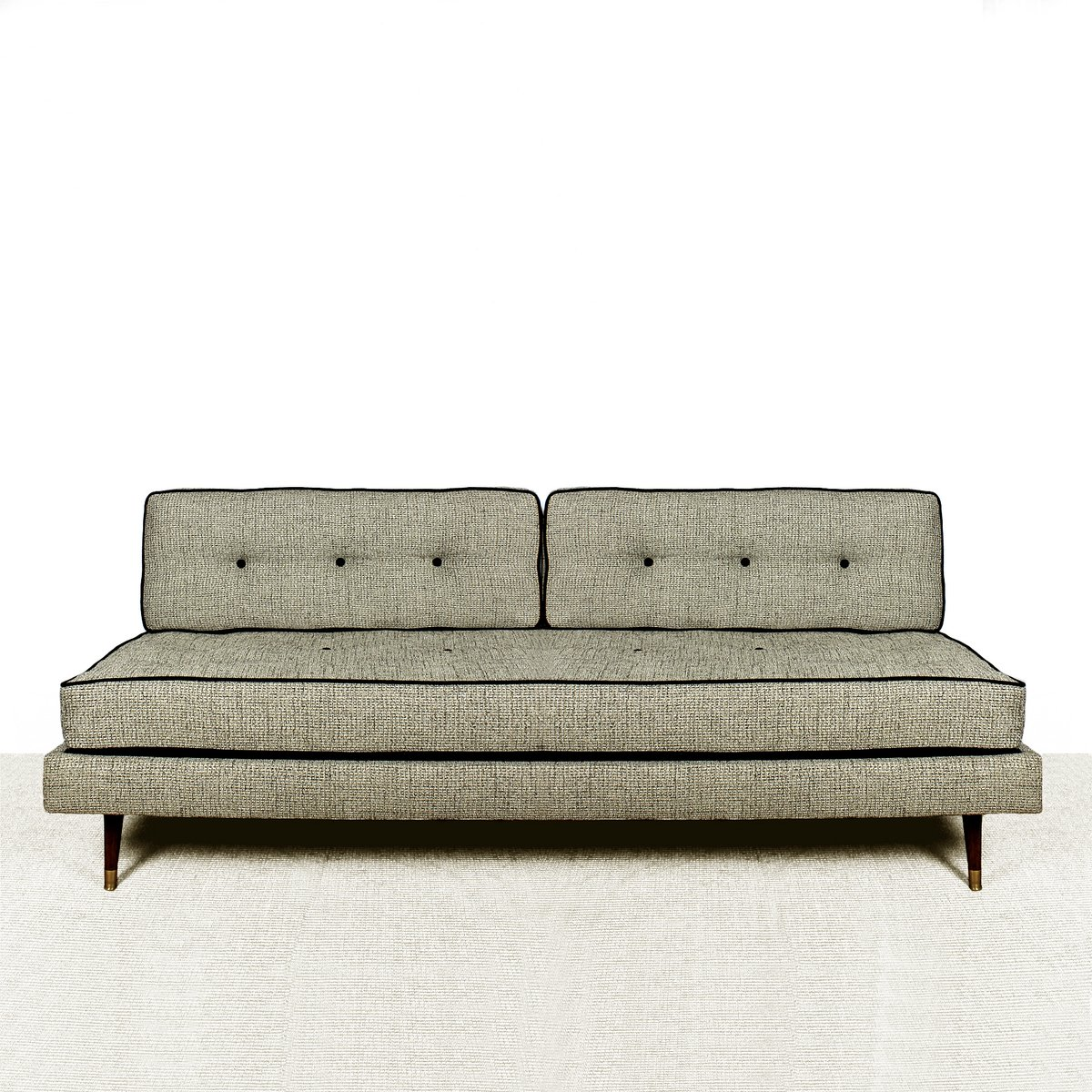 Large mahogany sofa 1950s for sale at pamono for Wide couches for sale