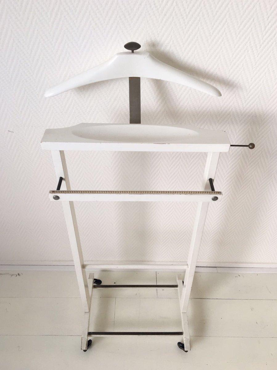 italienischer stummer diener in wei von fratelli reguitti. Black Bedroom Furniture Sets. Home Design Ideas