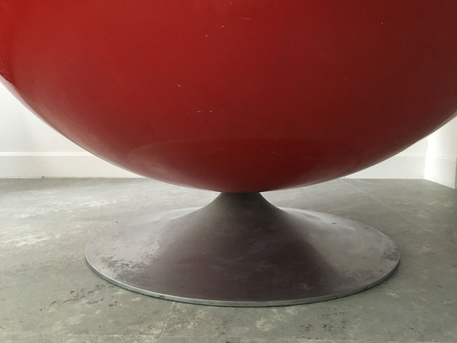 Ovalia Egg Chair by Thor Larsen for Torlan Staffanstorp 1968 for