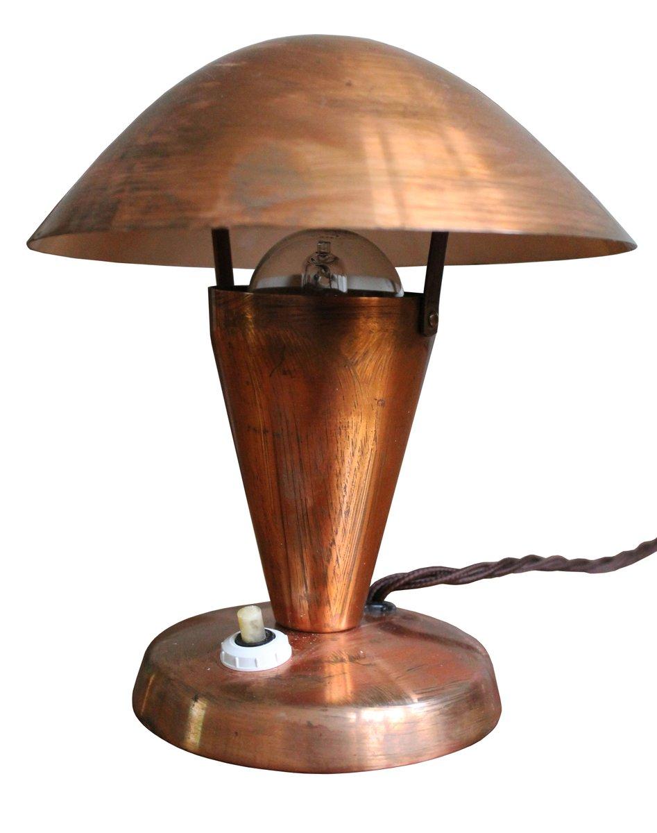925 kupfer lampen von josef hurka f r napako 1950er 2er for Lampen kupfer