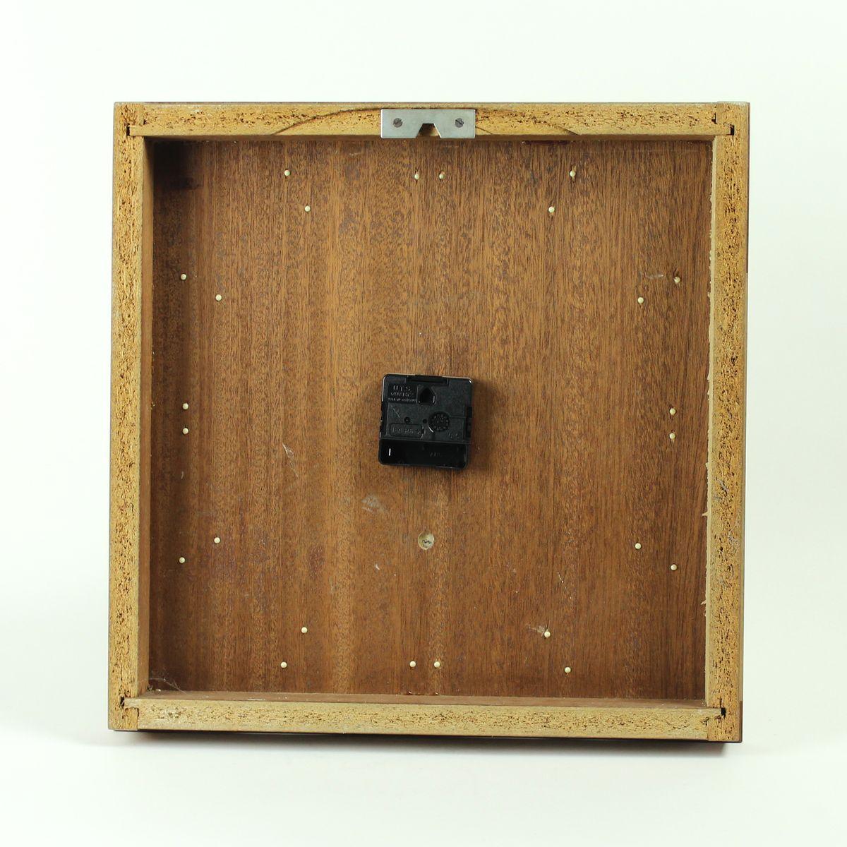 pph 410 uhr aus holz von pragotron 1970er bei pamono kaufen. Black Bedroom Furniture Sets. Home Design Ideas