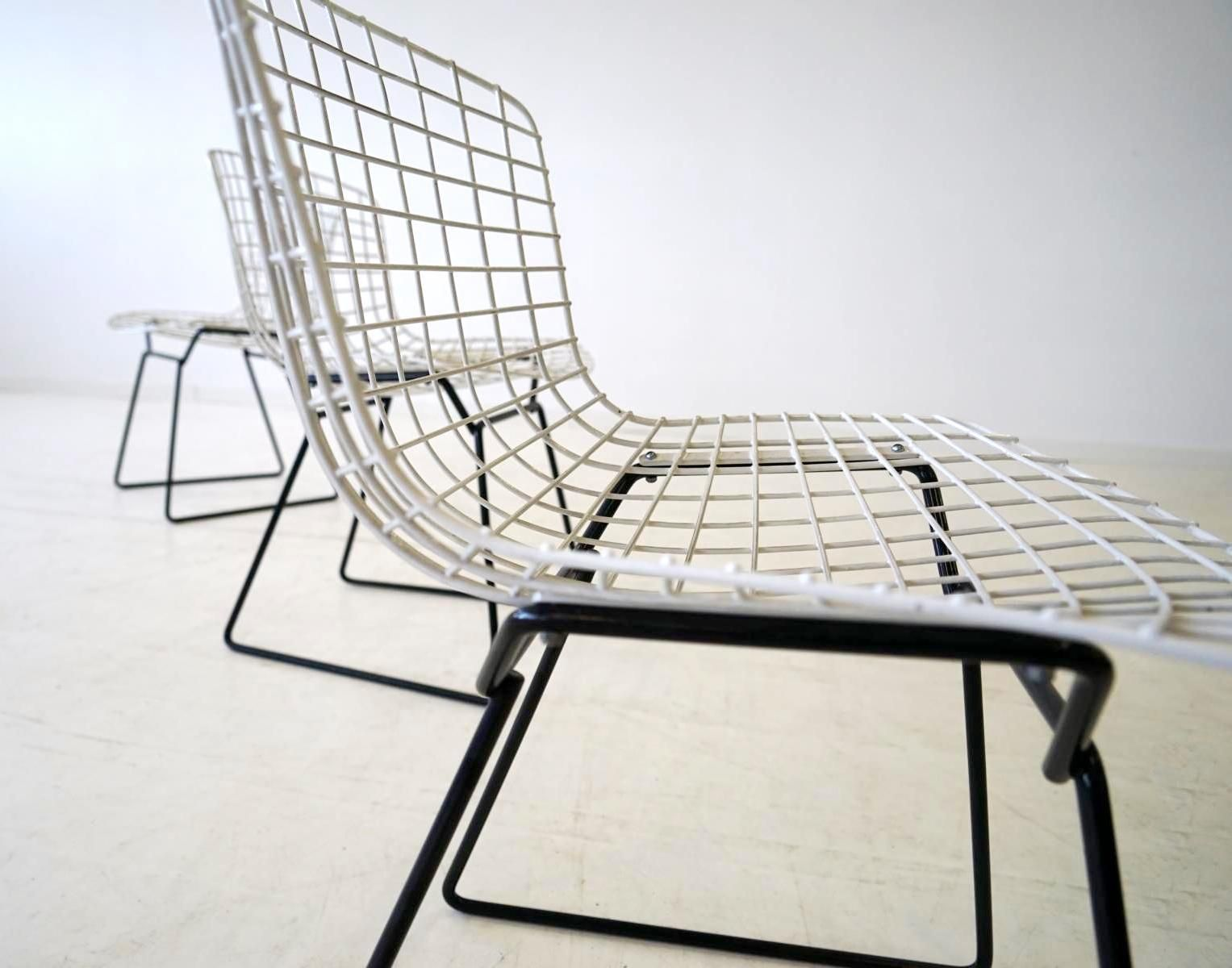 Diamond wire lounge chairs by harry bertoia for knoll inc 1950s set of 4 for sale at pamono - Knoll inc chairs ...