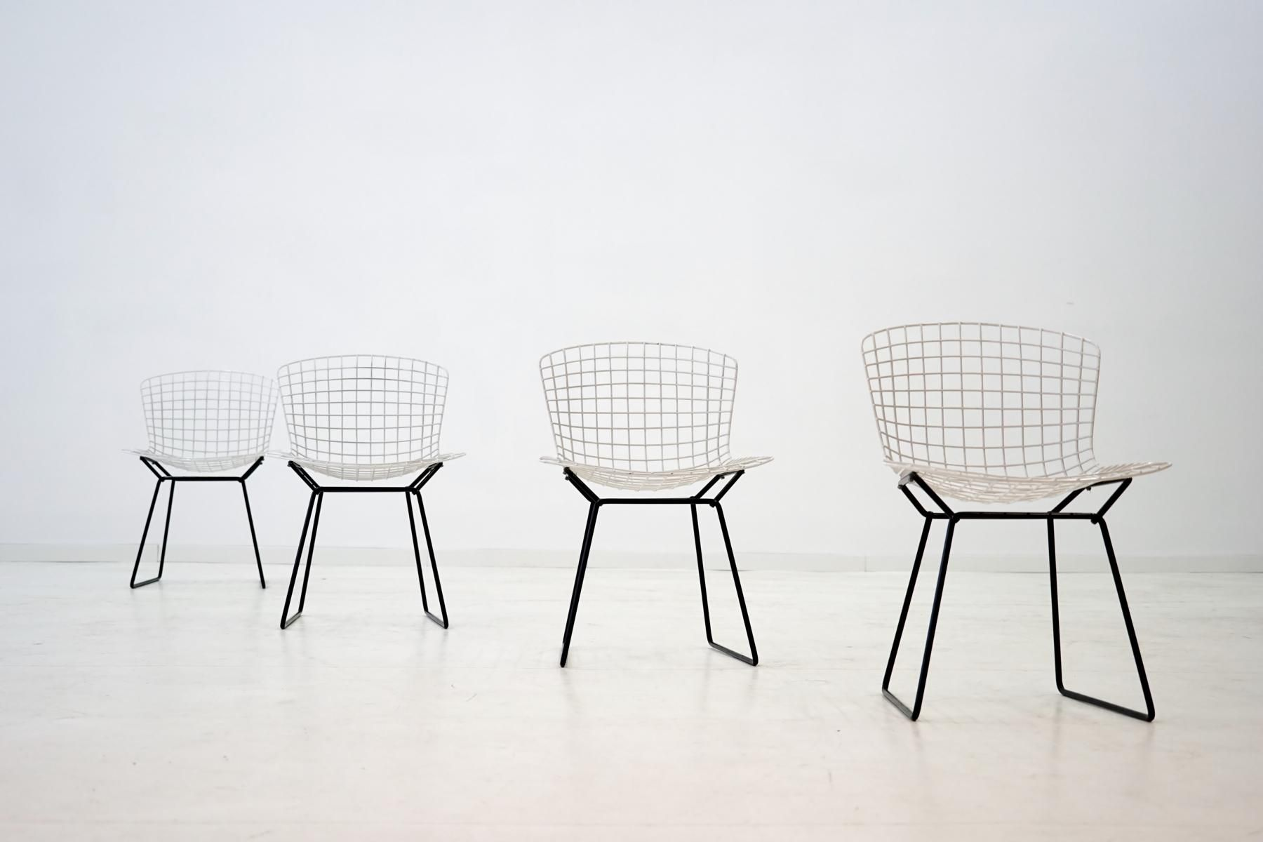 Diamond Wire Lounge Chairs by Harry Bertoia for Knoll Inc 1950s