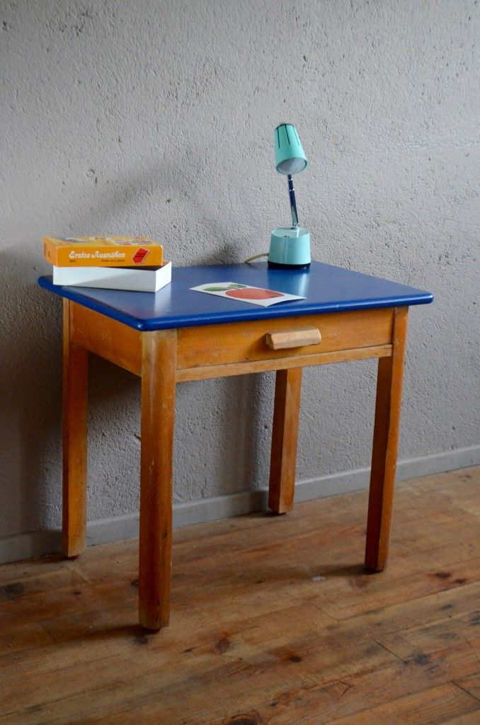 Small Wooden Child Desk 1950s For Sale At Pamono