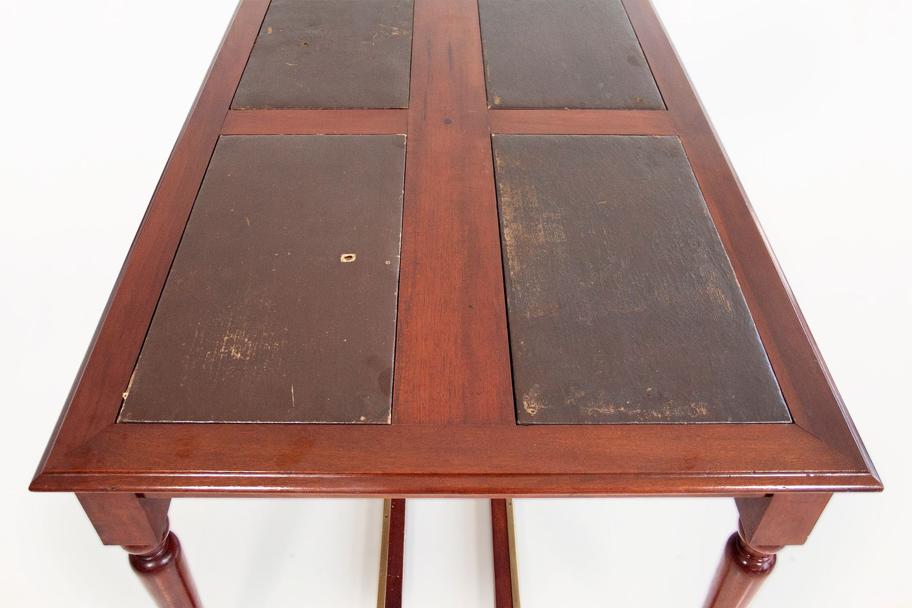 19th Century Mahogany Library Table for sale at Pamono