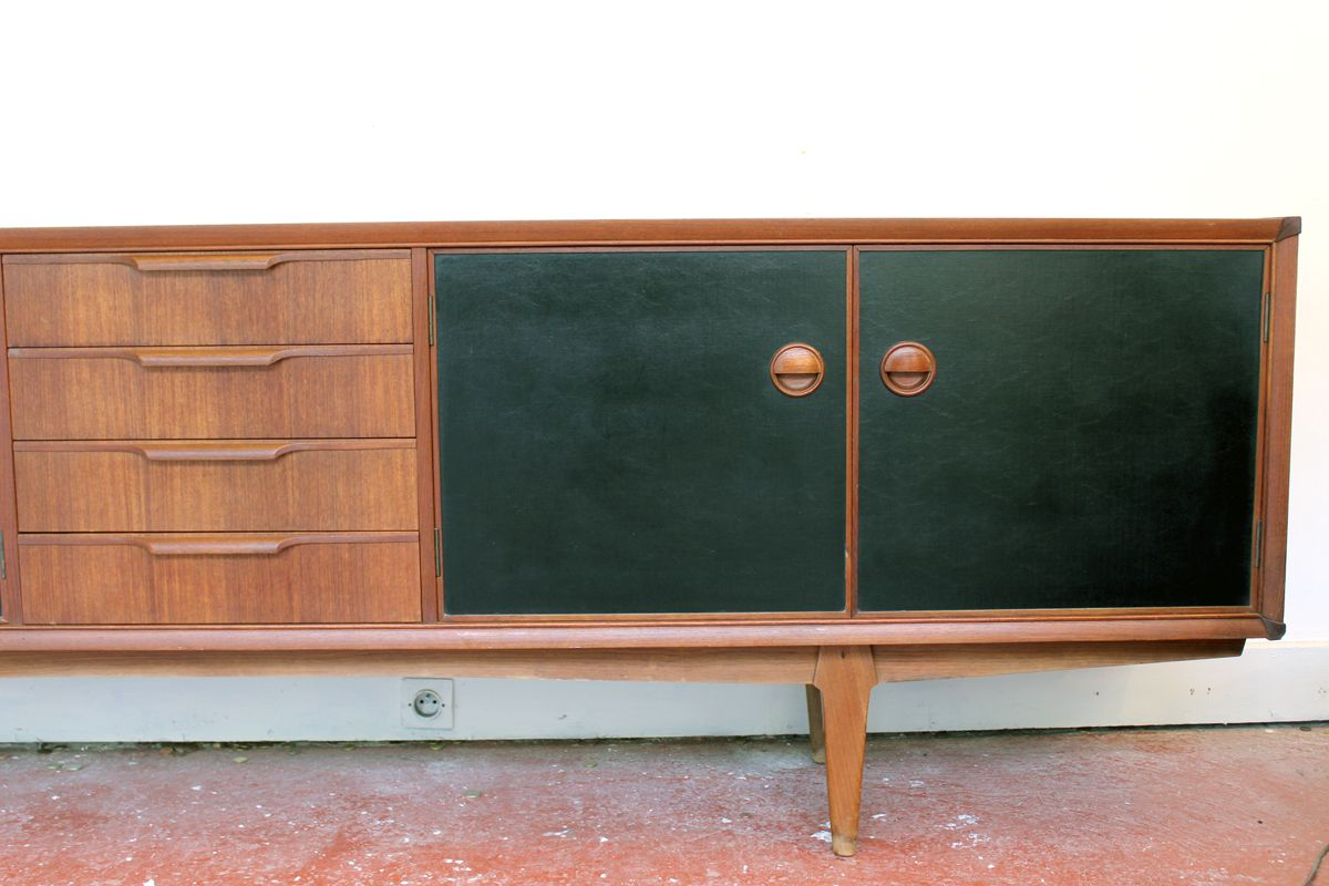 Teak sideboard from fristho 1960s for sale at pamono for Sideboard 1m breit
