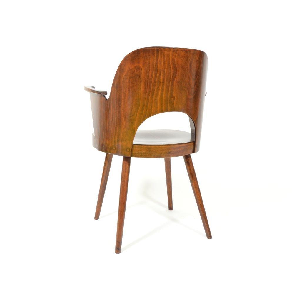 vintage schichtholz stuhl von oswald heardtl f r ton. Black Bedroom Furniture Sets. Home Design Ideas