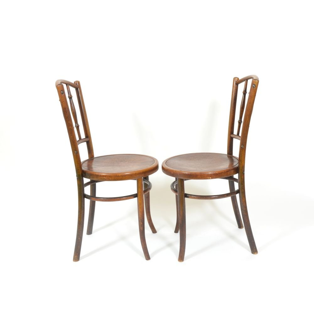 Vintage Chairs From Thonet, Set Of 2