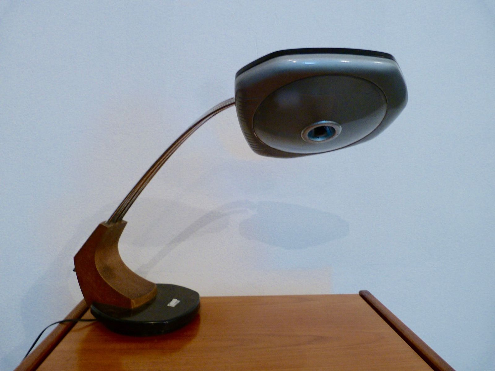 Vintage Model Falux Desk Lamp from Fase, 1970s for sale at Pamono