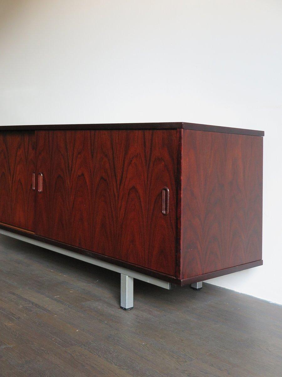 kleines d nisches palisander sideboard 1960er bei pamono. Black Bedroom Furniture Sets. Home Design Ideas