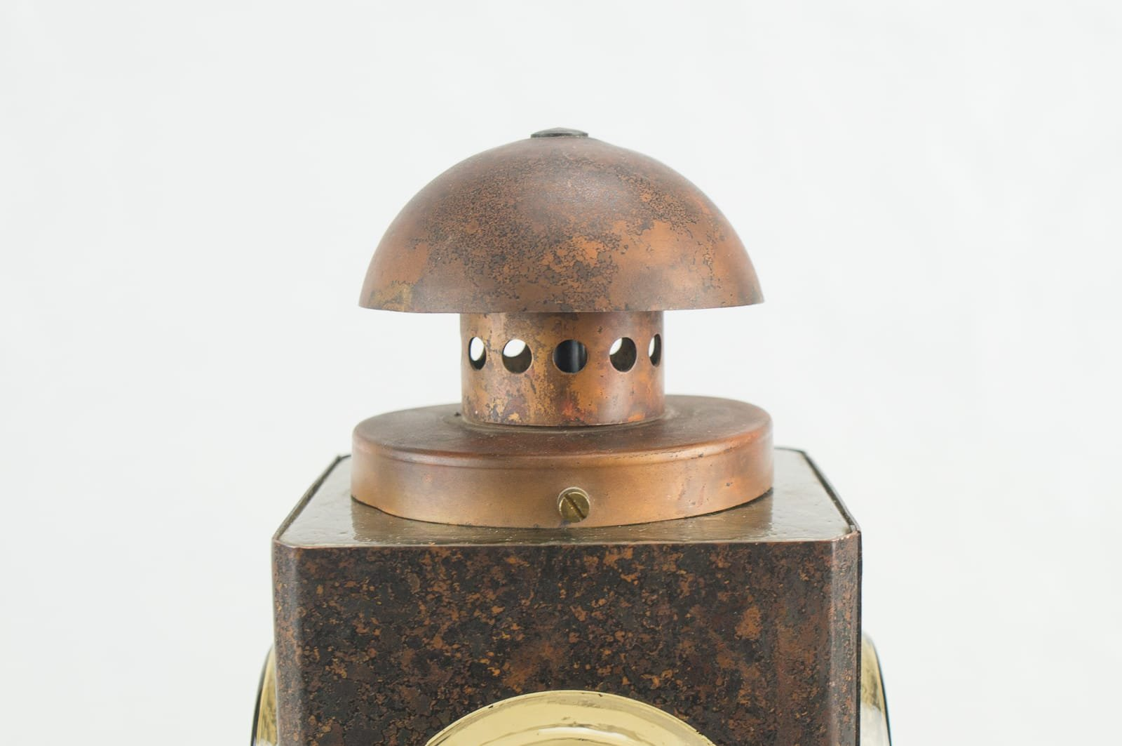 Mid century copper wall outdoor light for sale at pamono for Mid century porch light