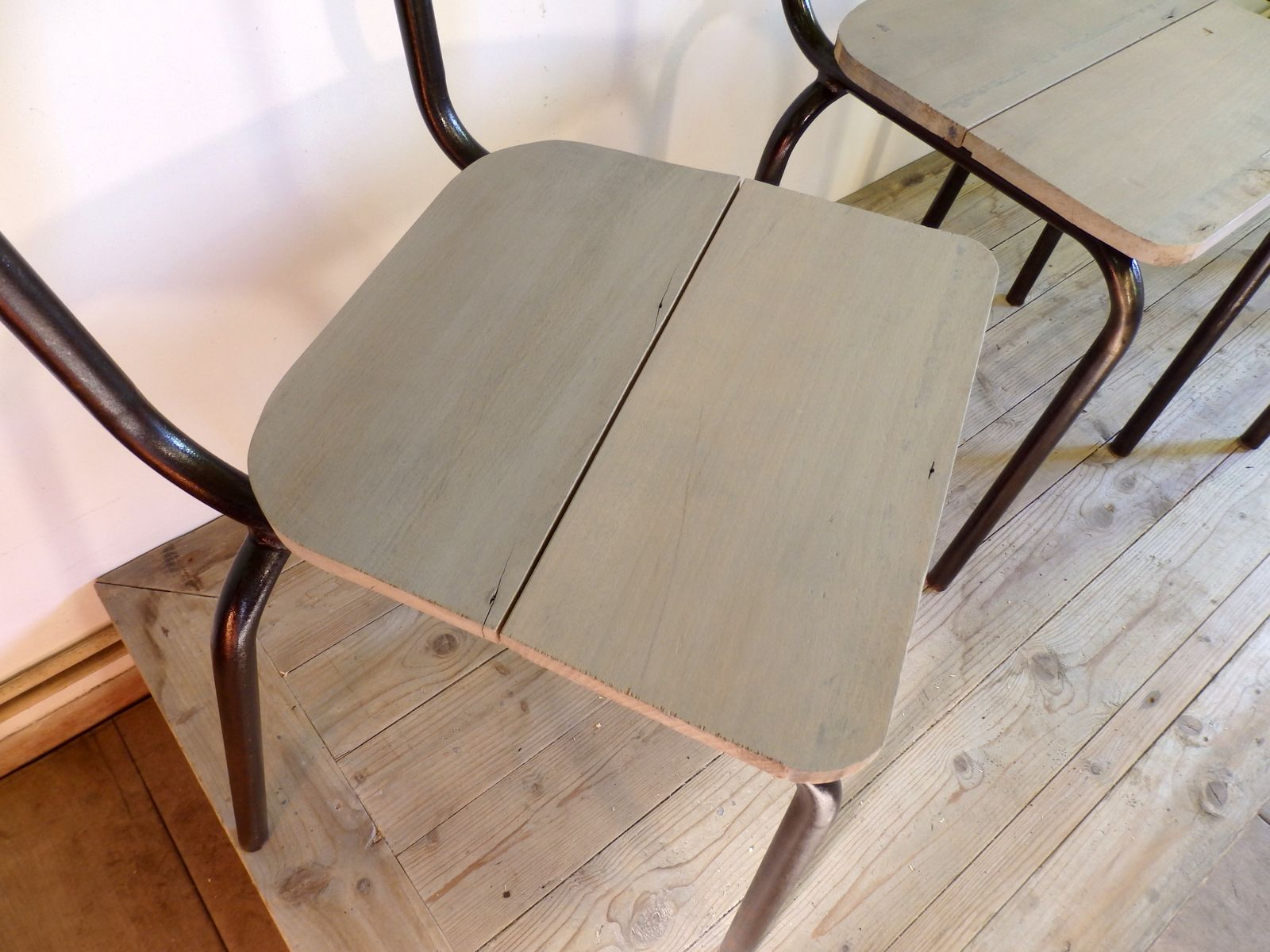 Mullca 510 Industrial Chairs 1960s Set of 4 for sale at Pamono