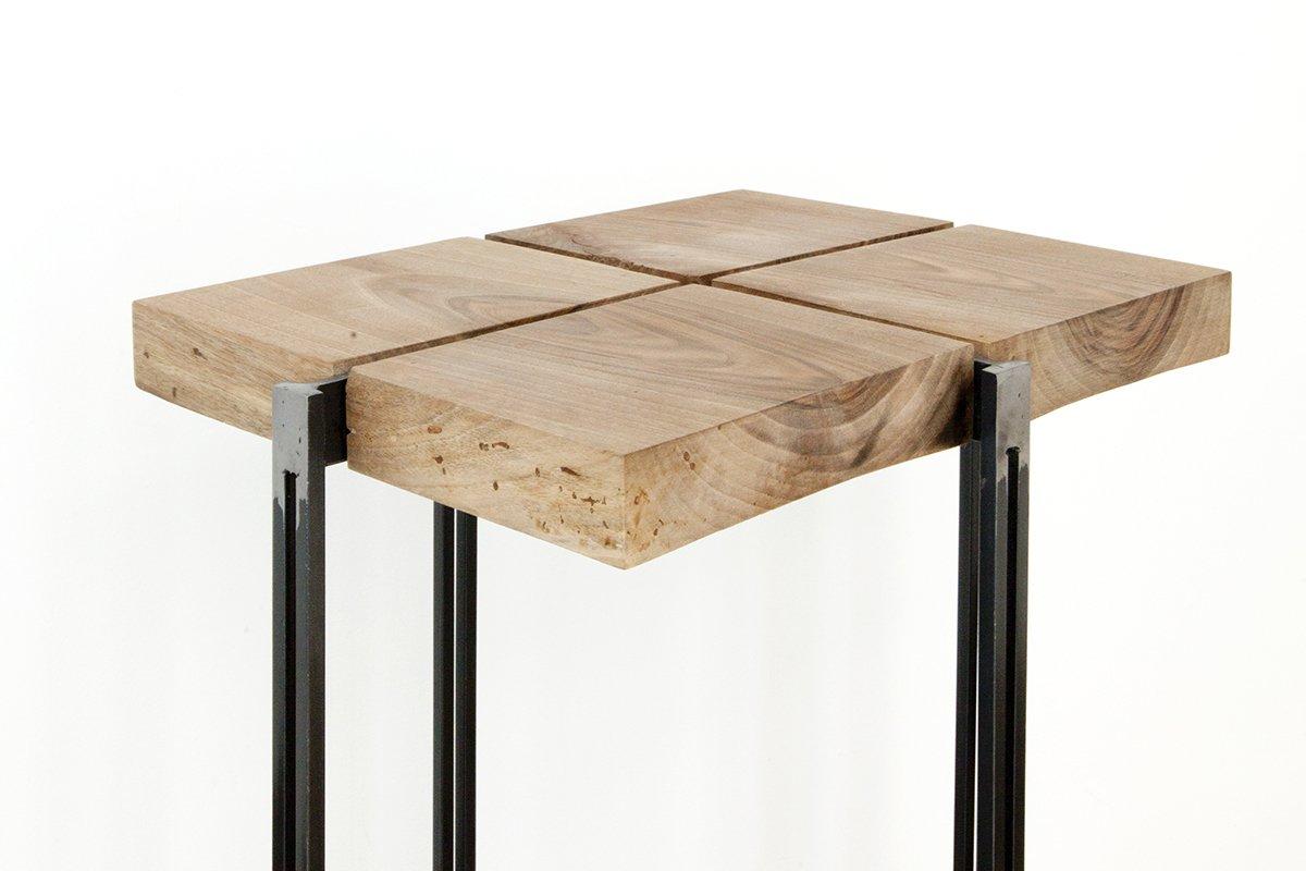 hoher cross 3 beistelltisch von unduo bei pamono kaufen. Black Bedroom Furniture Sets. Home Design Ideas
