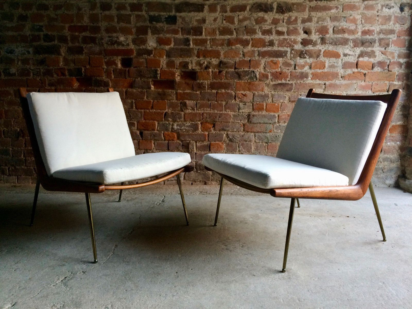Boomerang Chairs by Peter Hvidt & Orla Molgaard Nielsen for France