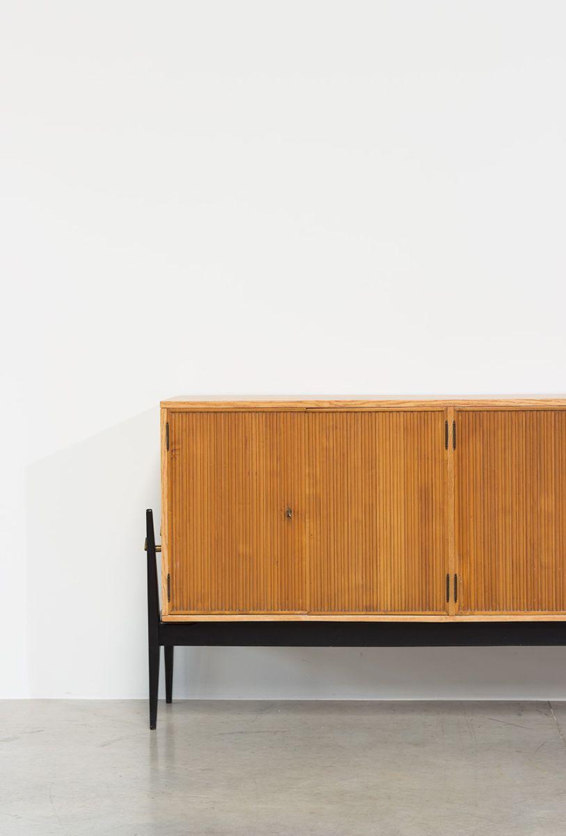 mid century sideboard von de coene 1950er bei pamono kaufen. Black Bedroom Furniture Sets. Home Design Ideas