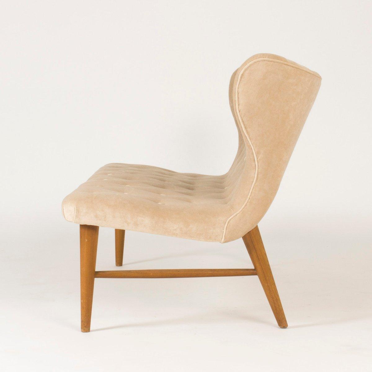 samtsofa von eric karl n f r firma rumsinter r 1940er bei. Black Bedroom Furniture Sets. Home Design Ideas