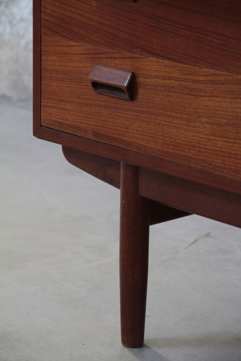 vintage danish secretaire 1960s for sale at pamono. Black Bedroom Furniture Sets. Home Design Ideas