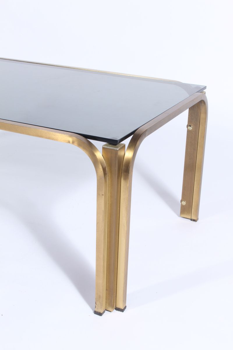 Vintage gilt metal coffee table for sale at pamono vintage gilt metal coffee table geotapseo Image collections