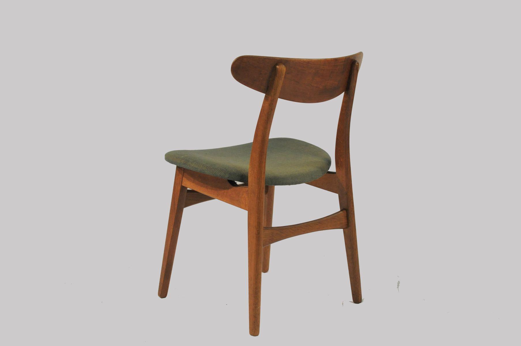 CH30 Oak Dining Chairs by Hans J Wegner for Carl Hansen & S¸n