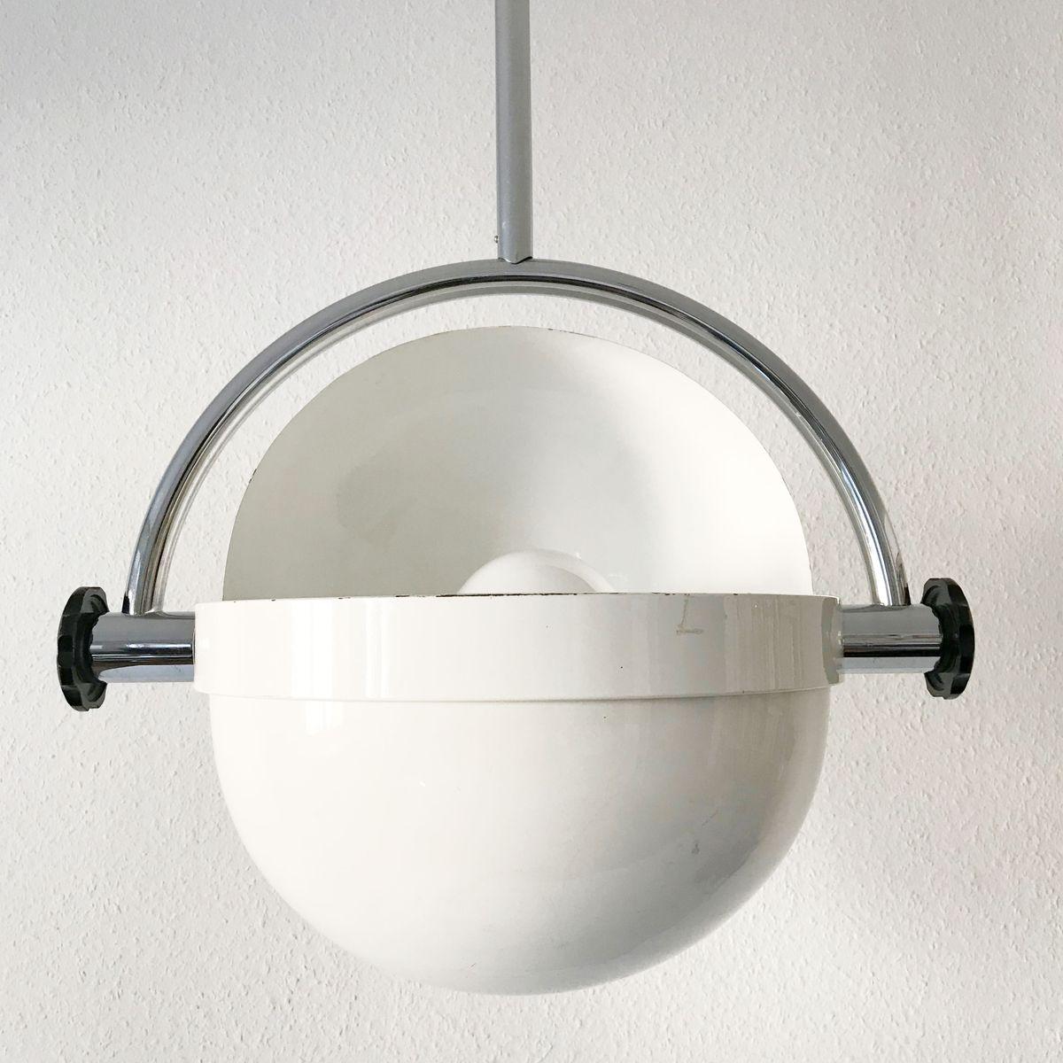 Mid Century Large Italian Pendant Lamp For Sale At Pamono