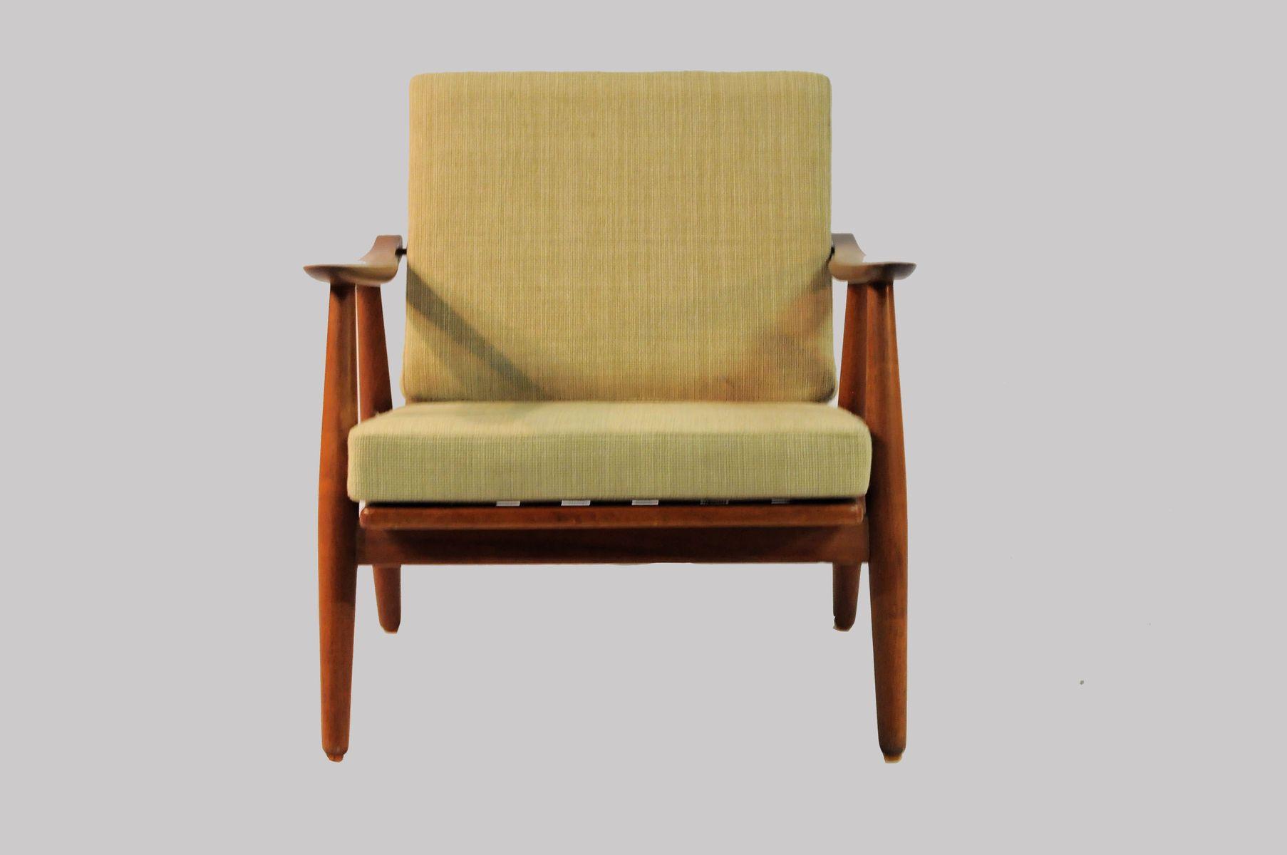 modell 240 cigar sessel von h j wegner f r getama 1950er. Black Bedroom Furniture Sets. Home Design Ideas