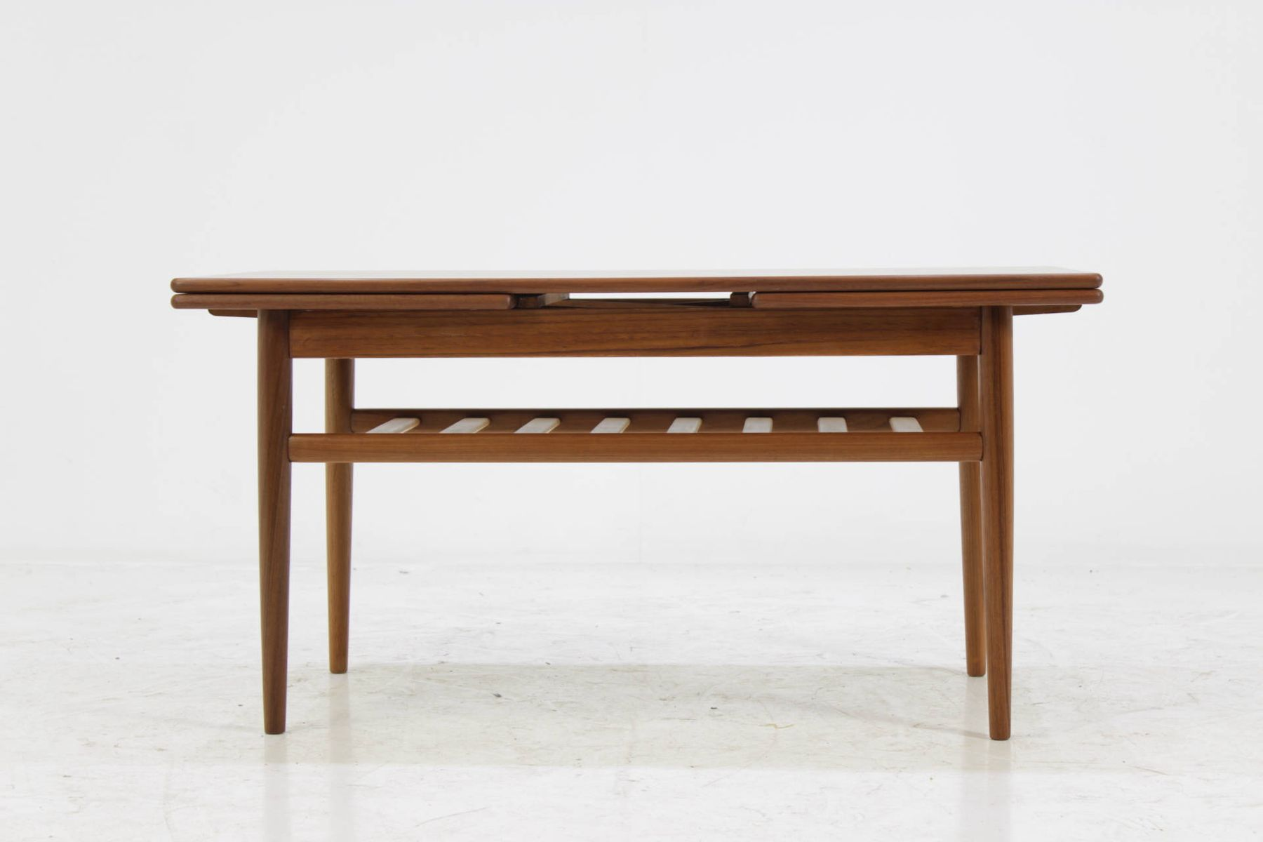 Danish extendable coffee table 1960s for sale at pamono - Telescopic coffee table ...