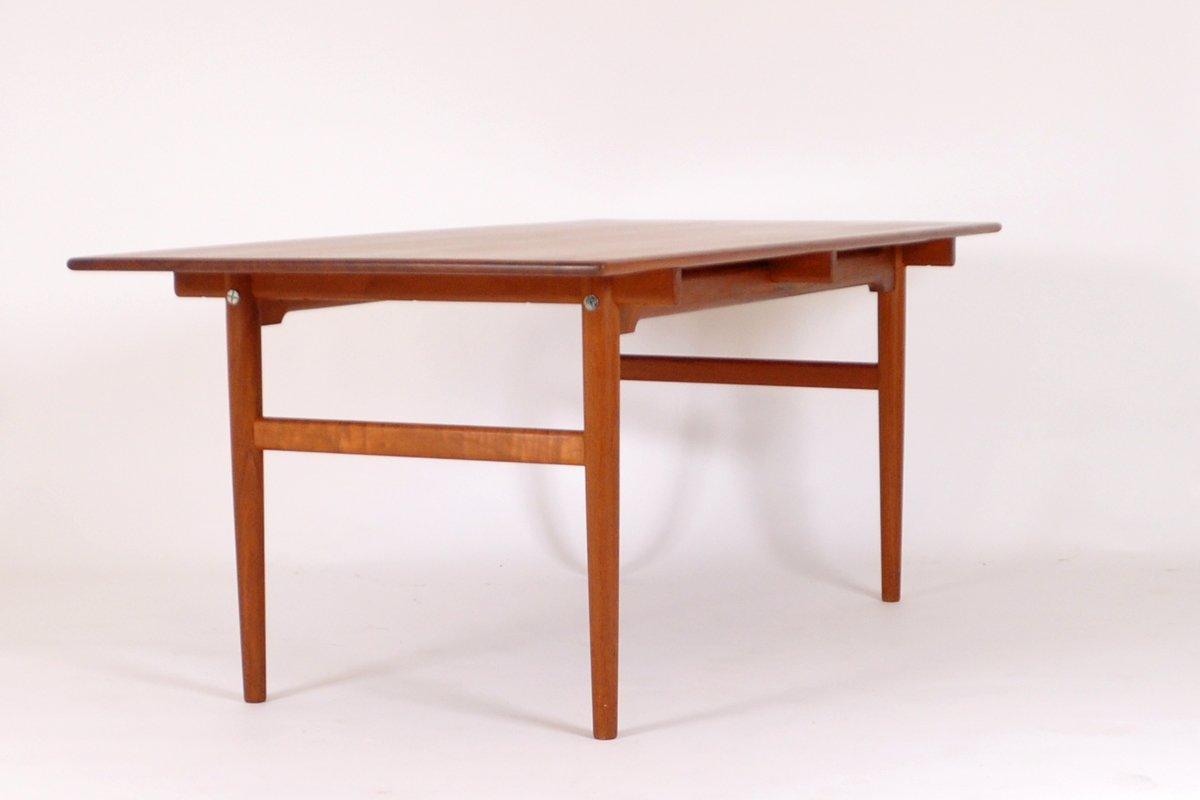 Table de salle a manger at327 mid century par hans j for 3 suisses table de salle a manger