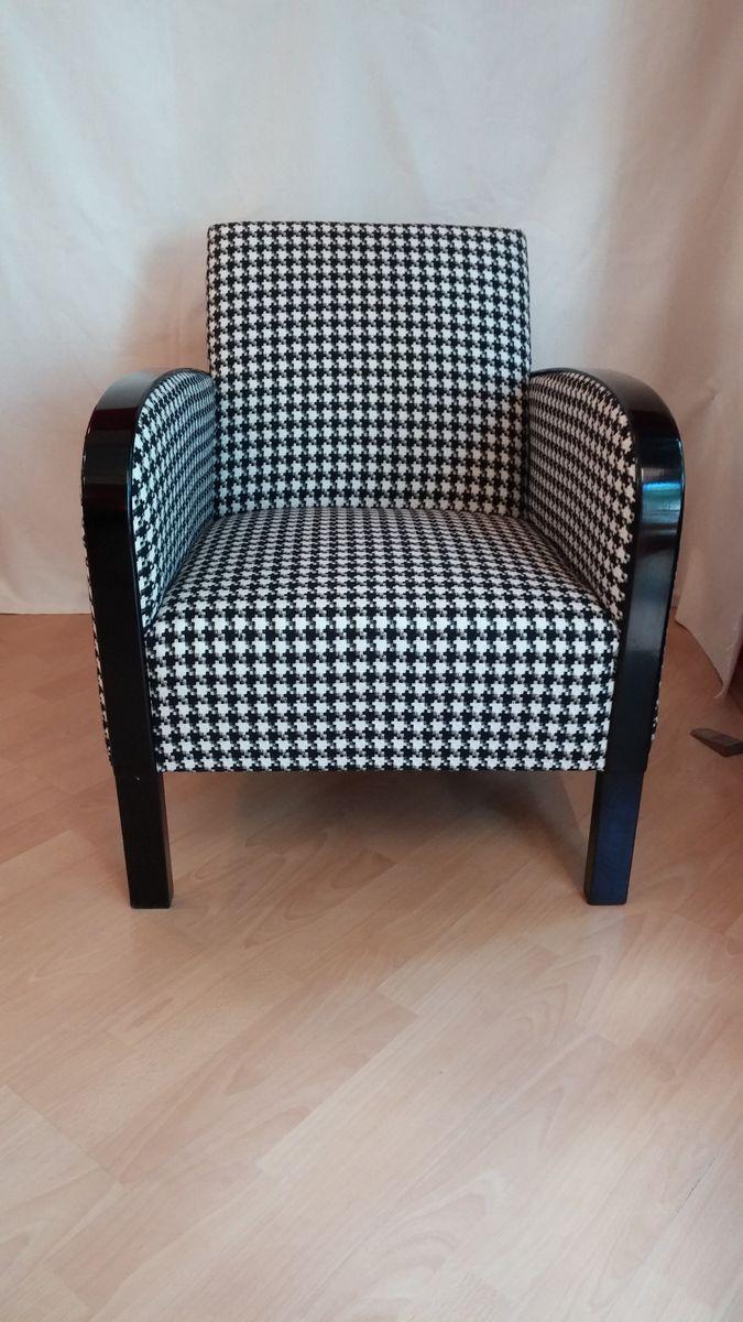 art deco sessel bei pamono kaufen. Black Bedroom Furniture Sets. Home Design Ideas