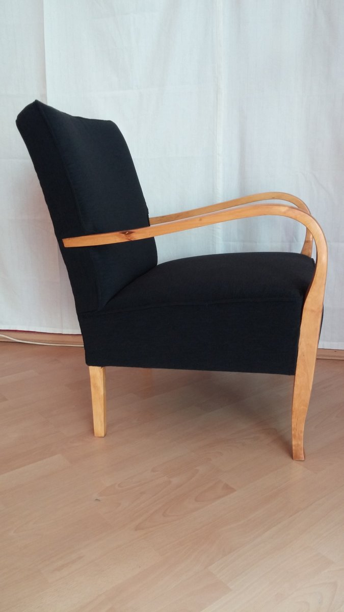 Art Deco Lounge Chairs Set Of 2 For Sale At Pamono